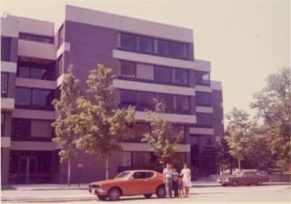 ハーバード大学の校庭
