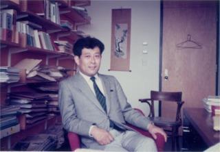 三和氏のハーバード・ロー・スクールの研究室